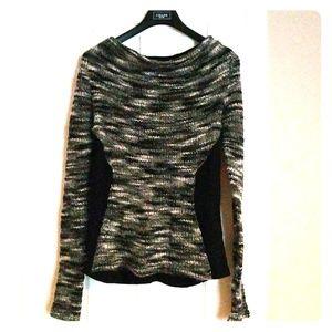 Cut25 sheer back sweater